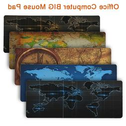 old world map gaming mouse pad diy