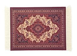 Oriental Rug Mouse Pad, Floral Computer Mouse Persian Carpet