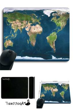 Original Blue Earth World Map Mouse Pad D-Map New