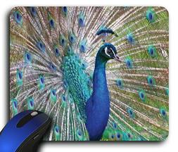 Peacock Rectangle Mouse Pad
