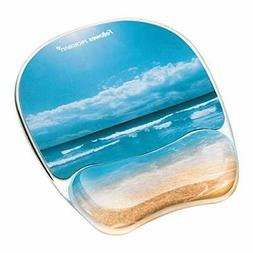 Fellowes Photo Gel Mouse Pad and Wrist Rest with Microban Pr