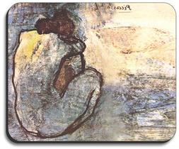 Picasso: Blue Nude Mouse Pad - By Art Plates