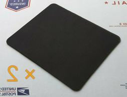 plain black mouse pad lot pack of