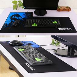 plus size gaming mouse pad locking edge