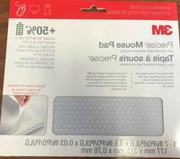 """3M Precise Mouse Pad 7"""" x 8.5"""" Extends Battery Life"""