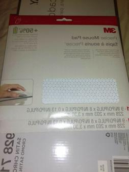 "3M Precise Mouse Pad Extends Battery Life 9"" x 8"" Gray"