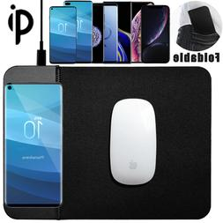 Qi Wireless Charger Charging Mouse Pad Mat For Samsung S10 P