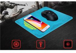 Qi Wireless Charger Mouse Pad iPhone 8 X Plus Dock Station S