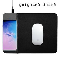 Qi Wireless Fast Charger Mouse Pad Mat For Samsung Galaxy S1