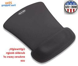 Quality Belkin Wrist Rest Gel keeps Mouse Pad Black Nonslip