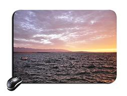 Rectangular Mouse Pad Sunset in the sea Mousepad