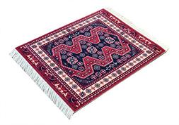 Red Oriental Woven Rug Mouse Pad - Persian Style Carpet Mous