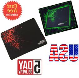 Rubber & Smooth Fabric Non-slip Gaming Mouse Pad Mat For Gra