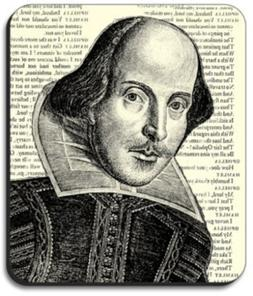 Shakespeare Mouse Pad - By Art Plates