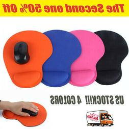 Soft Gel Mouse Pad Rest Wrist Comfort Support Mice Mat Gamin