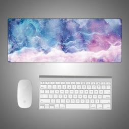 starry soft extended gaming mouse pad large