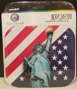 statue of liberty mouse pad 9 5