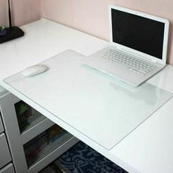Transparent Desk Mouse Pad 600x400mm Mat For Macbook Dell Hp