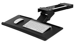 Mount-It! Under Desk Computer Keyboard and Mouse Tray, Ergon