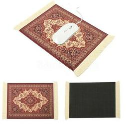 "US 11""x7.1"" Mouse Pad Fabric Persian Rug Mat Mousepad Retro"