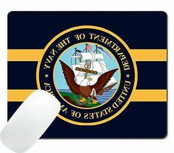 Wknoon US Navy Logo Printing Mouse Pad New