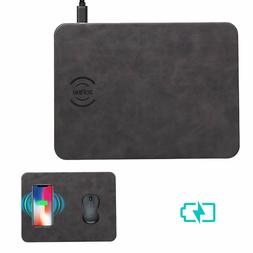 Wireless Charger - Fast Wireless Charging Mouse Pad for All