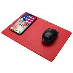 Qi Wirelss Charging Mouse Pad For Samsung Galaxy Note 8/S8/S