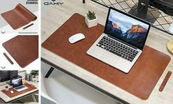 Extended Leather Gaming Mouse Pad/Mat, Large Office Writing